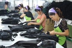 Asiat kleidet Fabrik Lizenzfreie Stockfotografie