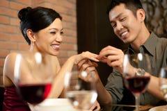 Asiat verbindet Lebensstil Lizenzfreie Stockfotos