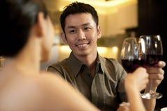 Asiat verbindet Lebensstil Stockbilder
