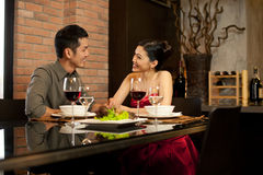 Asiat verbindet Lebensstil Lizenzfreies Stockfoto