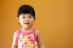 asiatet behandla som ett barn barnflickan Royaltyfria Foton