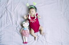Asiatet behandla som ett barn flicka 11 Royaltyfria Foton