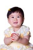 asiatet behandla som ett barn flickan Arkivfoto