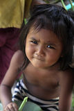 asiatet behandla som ett barn flickan Arkivbilder