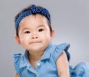 asiatet behandla som ett barn flickan Royaltyfria Bilder