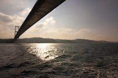 Asiatic bridge in istanbul Stock Images