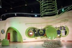 Asiatico Cina, Pechino, centro espositivo cinese di ŒIndoor del ¼ di Museumï di scienza e tecnologia, scienza e tecnologia, Fotografia Stock Libera da Diritti