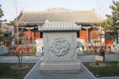 Asiatico Cina, Pechino, Gaobeidian, tempio, il tempio di Dragon King Fotografia Stock Libera da Diritti