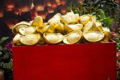 Asiatico Cina, Pechino, ¼ ŒGold, decorazione di Carnivalï di agricoltura Fotografia Stock Libera da Diritti