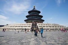 Asiatico Cina, Pechino, parco di Tiantan, il corridoio della preghiera per i buoni raccolti Immagini Stock Libere da Diritti