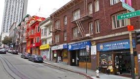 Asiatico Powell Street archivi video