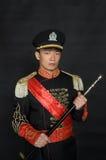 Asiatico vestito in abbigliamento stile occidentale Fotografie Stock Libere da Diritti