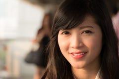 Asiatin Lizenzfreie Stockfotos