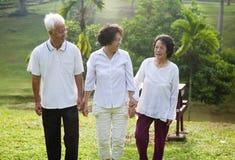 Asiatique aîné Image libre de droits