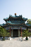 Asiatique Chine, architecture antique, pavillon de pavillon de Lanting Photographie stock libre de droits
