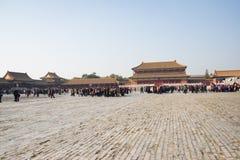 Asiatique Chine, Pékin, bâtiments historiques, le palais impérial Image stock