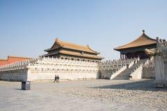 Asiatique Chine, Pékin, bâtiments historiques, le palais impérial Photos stock
