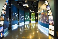 Asiatique Chine, Pékin, hall d'exposition national de ŒIndoor de ¼ de Museumï de film de la Chine, Image stock