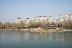 Asiatique Chine, Pékin, parc de Zizhuyuan Photo libre de droits
