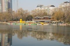 Asiatique Chine, Pékin, parc de Zizhuyuan Image stock
