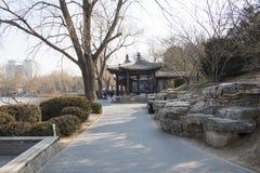 Asiatique Chine, Pékin, parc de Zizhuyuan Images libres de droits