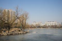 Asiatique Chine, Pékin, parc de Zizhuyuan Photos stock