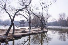 Asiatique Chine, Pékin, parc de Zizhuyuan Photographie stock