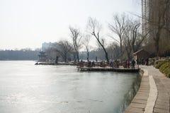 Asiatique Chine, Pékin, parc de Zizhuyuan Photo stock