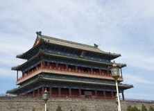 Asiatique Chine, Pékin, porte de Zhengyang, porte, Image stock