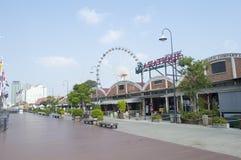 Asiatique la orilla del río en la ciudad de Bangkok Imagenes de archivo