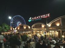 Asiatique. In the night Stock Image