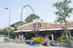 Asiatique The Riverfront in Bangkok city Stock Image
