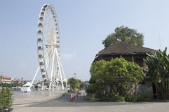 Asiatique The Riverfront in Bangkok city Royalty Free Stock Photography