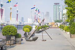 Asiatique The Riverfront in Bangkok city Stock Images