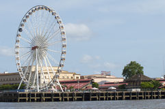 Asiatique The Riverfront in Bangkok city Royalty Free Stock Photo