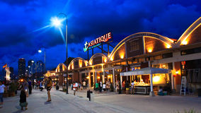 ASIATIQUE Riverfront, Bangkok Thailand Royalty-vrije Stock Foto's