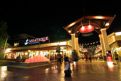 ASIATIQUE The Riverfront, Bangkok Thailand Royalty Free Stock Image