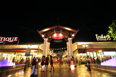 ASIATIQUE Riverfront, Bangkok Thailand royalty-vrije stock foto