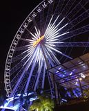 Asiatique riverfront, mening Royalty-vrije Stock Fotografie