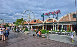 Asiatique The Riverfront Stock Images