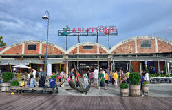 Asiatique The Riverfront Royalty Free Stock Photos