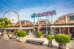 Asiatique for travel Royalty Free Stock Photos