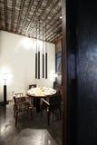 Asiatisch-Ähnliches Südostrestaurant stockbild
