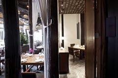 Asiatisch-Ähnliches Südostrestaurant stockbilder