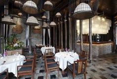 Asiatisch-Ähnliches Südostrestaurant stockfoto