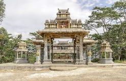 Asiatisch-inspirierte Architektur Lizenzfreies Stockfoto