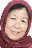 Asiatische alte Dame Lizenzfreie Stockfotografie