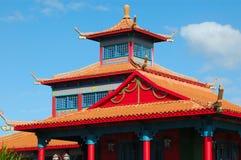Asiatische Architektur stockbilder