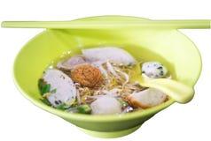 Asiatische Artnudel Stockfoto