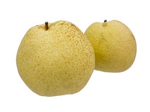 Asiatische Birnenfrucht lokalisiert Stockfotografie